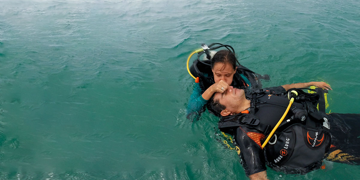 Curso Mergulhador de Resgate