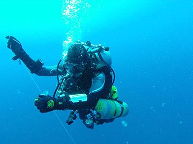 Saída de Mergulho Técnico