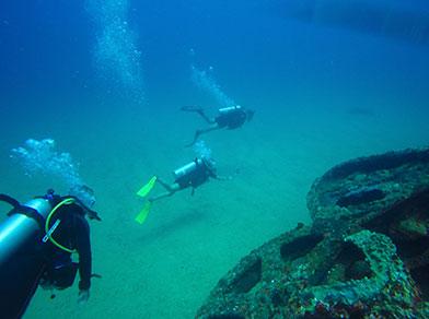 Mergulho nos Naufrágios em Maceió