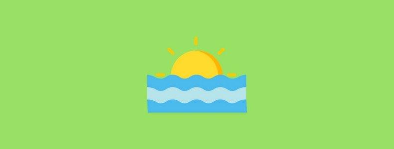 Benefícios do mar