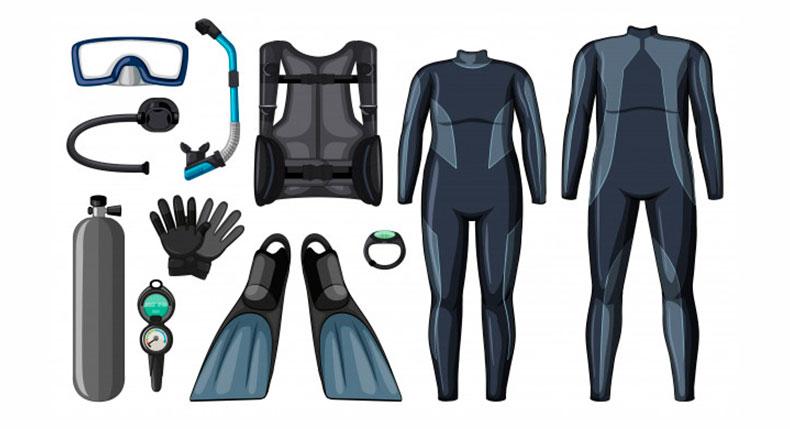 Como comprar seu equipamento de mergulho