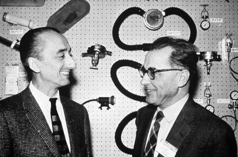 Jacques-Yves Cousteau e Emile Gagnan