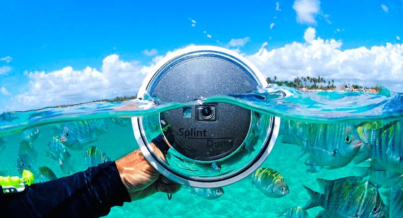 Presente ideal para um mergulhador