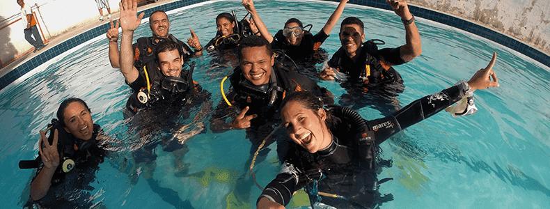 Curso básico de mergulho