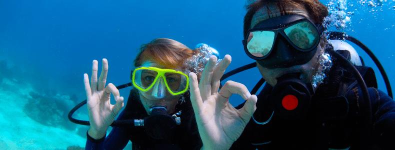 Mantenha o foco em fotos embaixo d'água