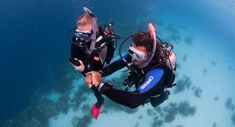 Como melhorar o consumo de ar no mergulho