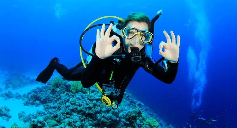Como manter a calma e evitar o pânico durante o mergulho