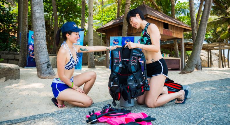 Checklist: o que levar para uma viagem de mergulho