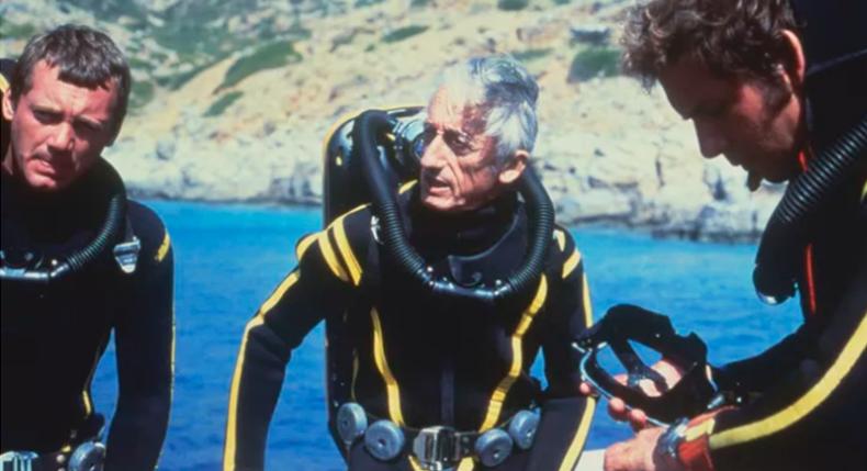 Carta aos mergulhadores Jacques Cousteau