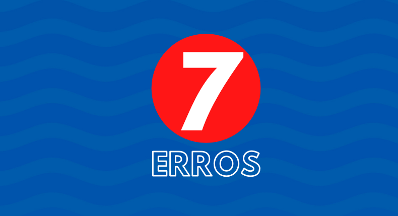 7 erros dos mergulhadores iniciantes